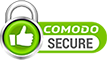 Comodo Secure seal of authentication.