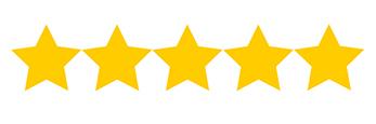 Logo representing 5 stars.