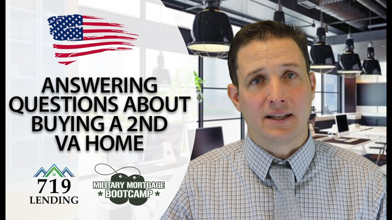 Thumbnail Of Video Answering Questions About Buying A 2nd VA Home.