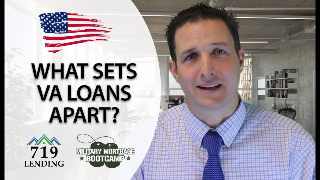 Discussing The Benefits Of VA Home Loans.