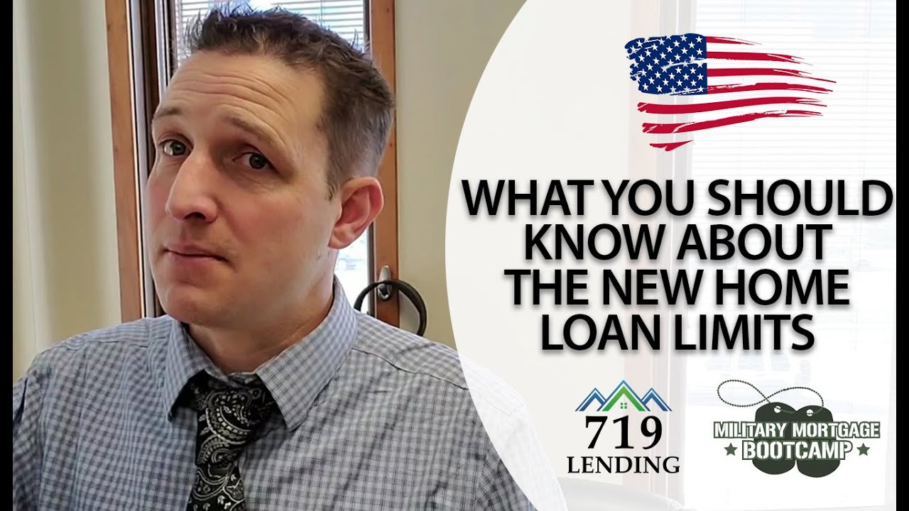 Thumbnail Of A Video Discussing The New Home Loan Limits.